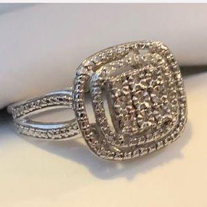 Helzberg Sterling Silver Ring